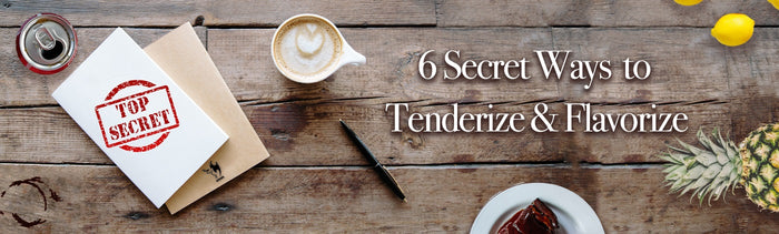 🌶️ 6 secret ways to tenderize and flavorize 🌶️