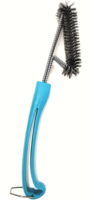 Caribbean Blue 360° Clean Grill Brush by Kona®, 18""