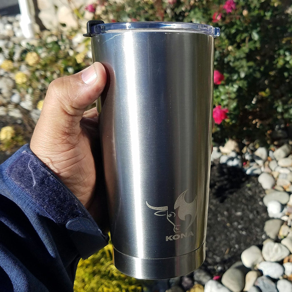 24HOUR ICE Spill-Proof Stainless Steel Tumbler 20 oz