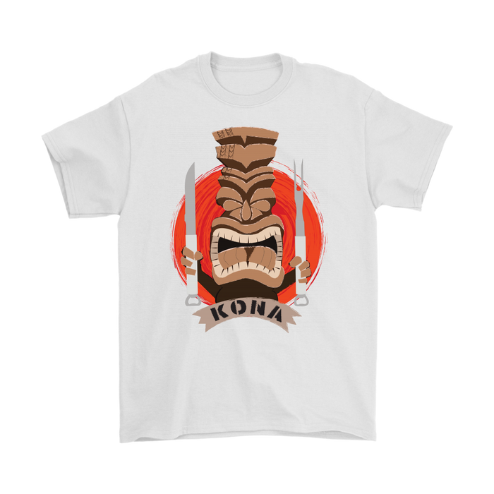 Kona Tiki Premium Cotton T-Shirt
