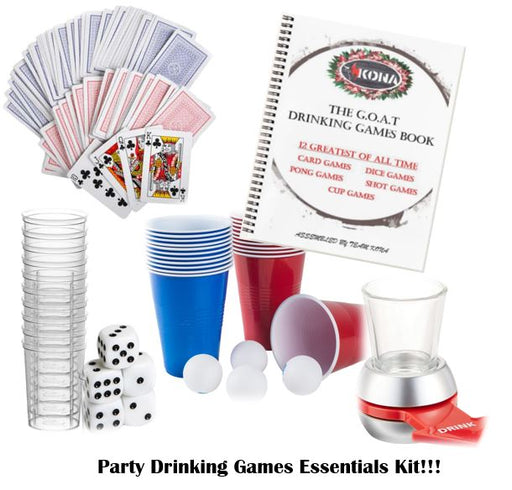 KONA G.O.A.T. Party Drinking Games Kit