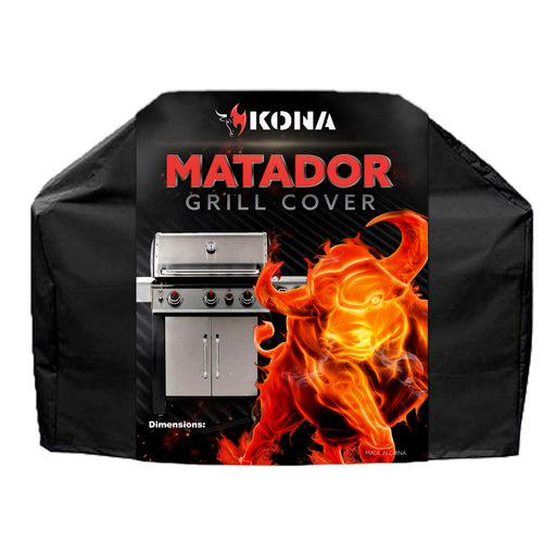 Kona Matador Grill Cover - Heavy Duty, Waterproof BBQ Cover For Gas Charcoal Electric Grills