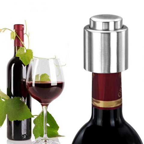 Stainless Steel Premium Wine Bottle Stopper