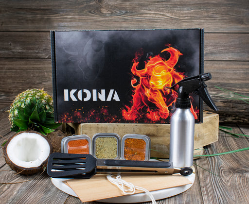 Kona Grilled Pacific Grillers Bundle Box