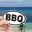 BBQ Vinyl Sticker - Waterproof, UV Resistant, Dishwasher Safe