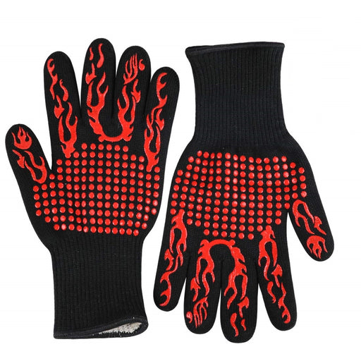 Extreme (1472 degree) Heat Resistant BBQ Gloves