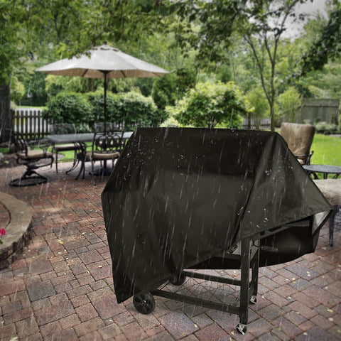Image of Waterproof BBQ Grill Cover For Gas Charcoal Electric Grills