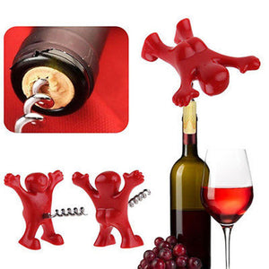 Happy Man Tools - Wine Plugger, Corkscrewer & Beer Opener