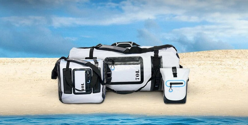 Dry Bag 20L 50L 70L - Waterproof Bags for Boating, Hiking, Camping, Beach