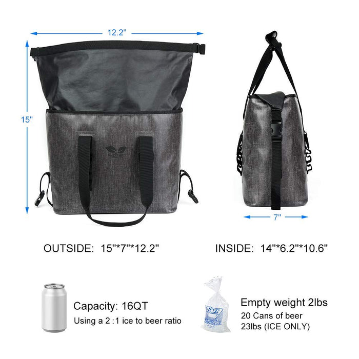 20 Can Soft Cooler Bag - 24 Hour Plus Ice Retention