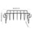 Non-Stick BBQ Rib Rack - Easy To Clean