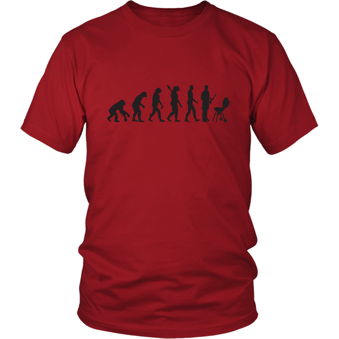 BBQ Evolution Premium Cotton T-Shirt