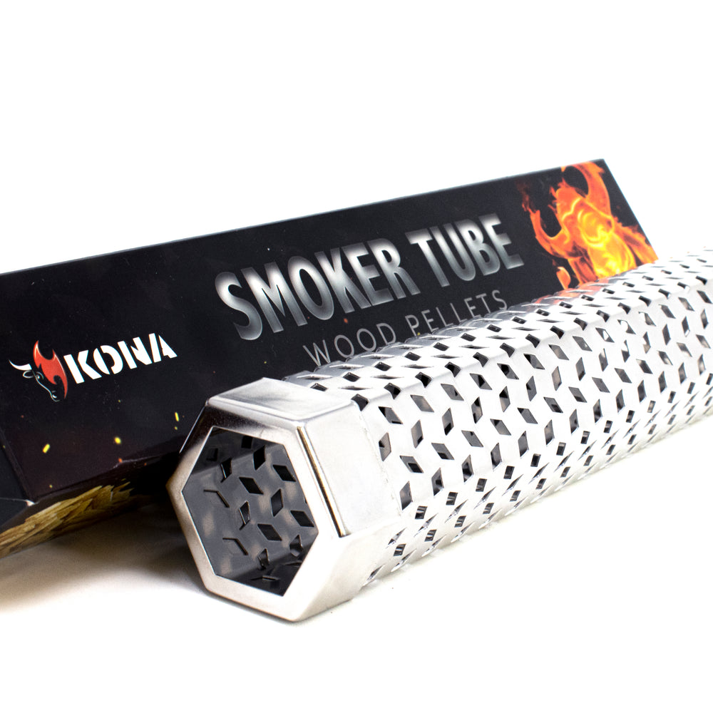 Smoker Tube - Wood Chips or Pellets - 20 Gauge Stainless Steel