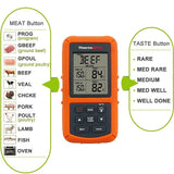 Single Probe Wireless Remote Digital Cooking Food Meat Thermometer 300 Feet Range for Smokers, Grills, Oven & BBQ