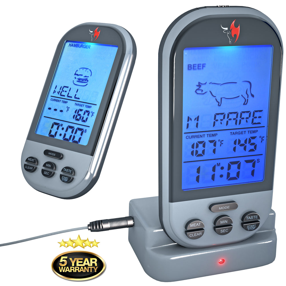 wireless meat thermometer by kona