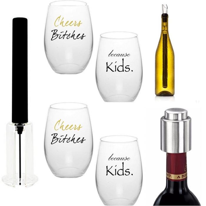 Kona Best Wine Accessories Gift Set