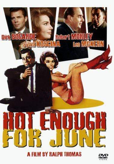 Movie Buffs Forever DVD Hot Enough For June DVD (1964)