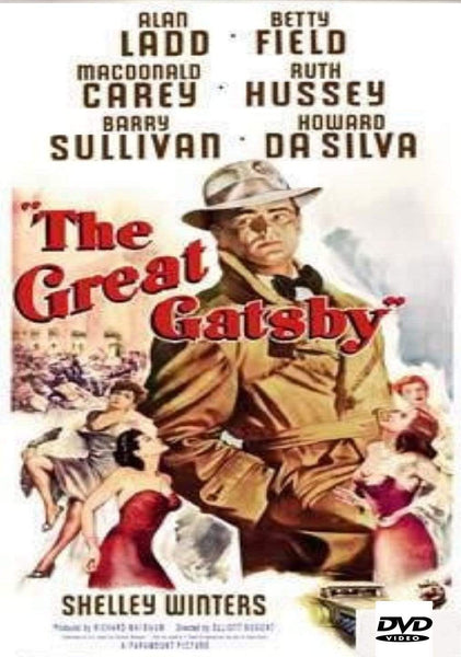 Movie Buffs Forever DVD The Great Gatsby DVD (1949)