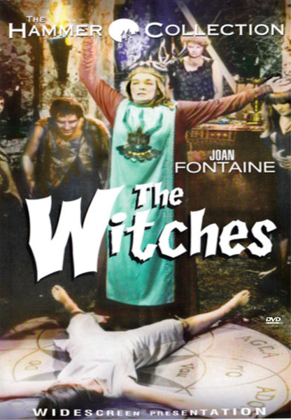 Movie Buffs Forever DVD The Witches (1966) Horror