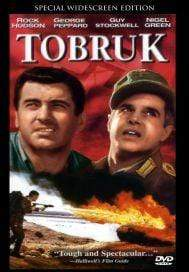 Movie Buffs Forever DVD Tobruk (1967) George Peppard, Rock Hudson