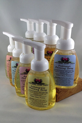 Lemongrass Foaming Soap