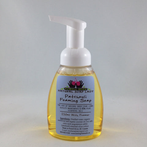 Patchoui Foaming Soap