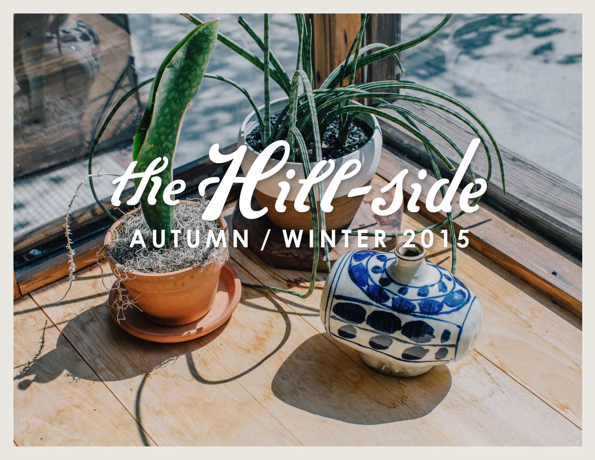 The Hill-Side Autumn/Winter 2015 Lookbook, Cover Image