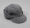 Cahors Hat, Grey Boiled Wool