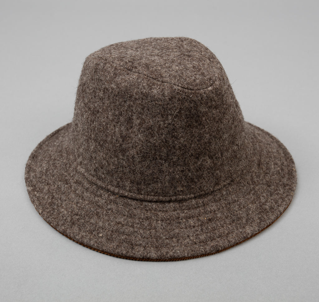 Drap de Bonneval Mountain Hat, Dark Grey
