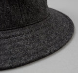 Littoral Hat, Grey Melton Wool