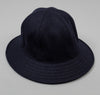 Littoral Hat, Navy Melton Wool