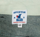 Arpenteur Petanque Trousers, Washed Denim
