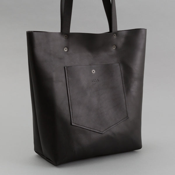DVH Co - Leather Tote, Black - image 2
