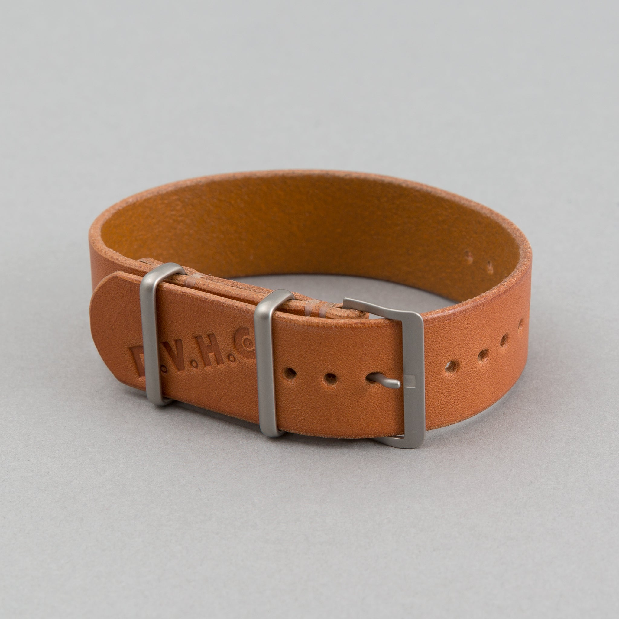 DVH Co Watch Band, Russet