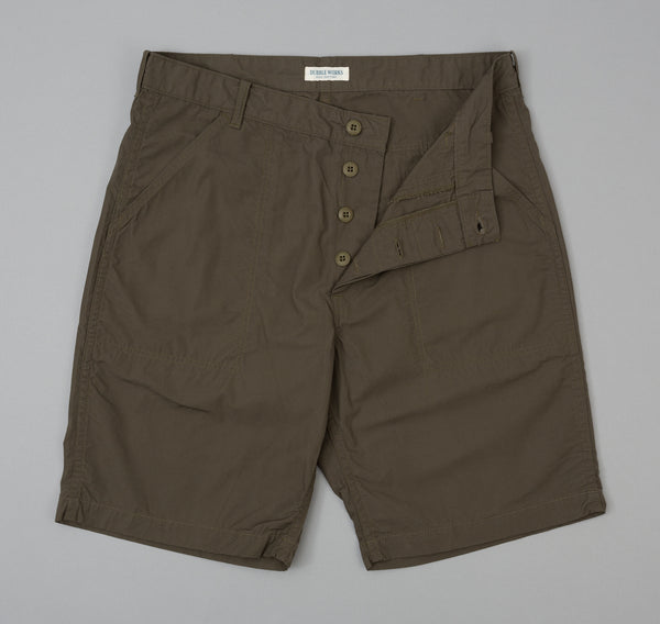 Dubbleworks - Lot 25003 Military Shorts, Khaki - image 2