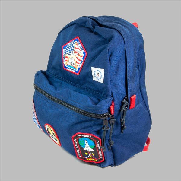 Epperson Mountaineering Day Pack w/ Vintage NASA Patches, Midnight