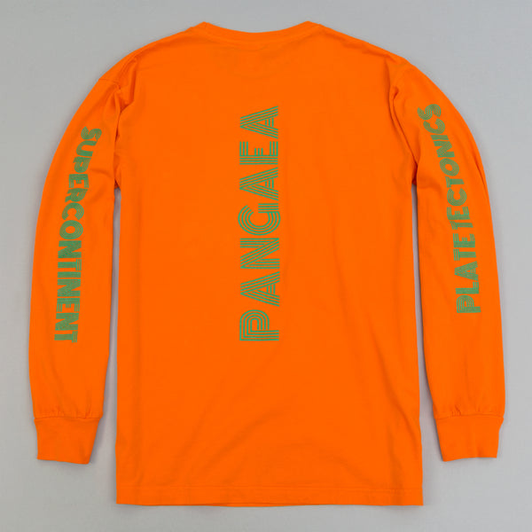 "Good Fishing ""Pangaea"" Long-Sleeve T-Shirt, Hazard Orange"