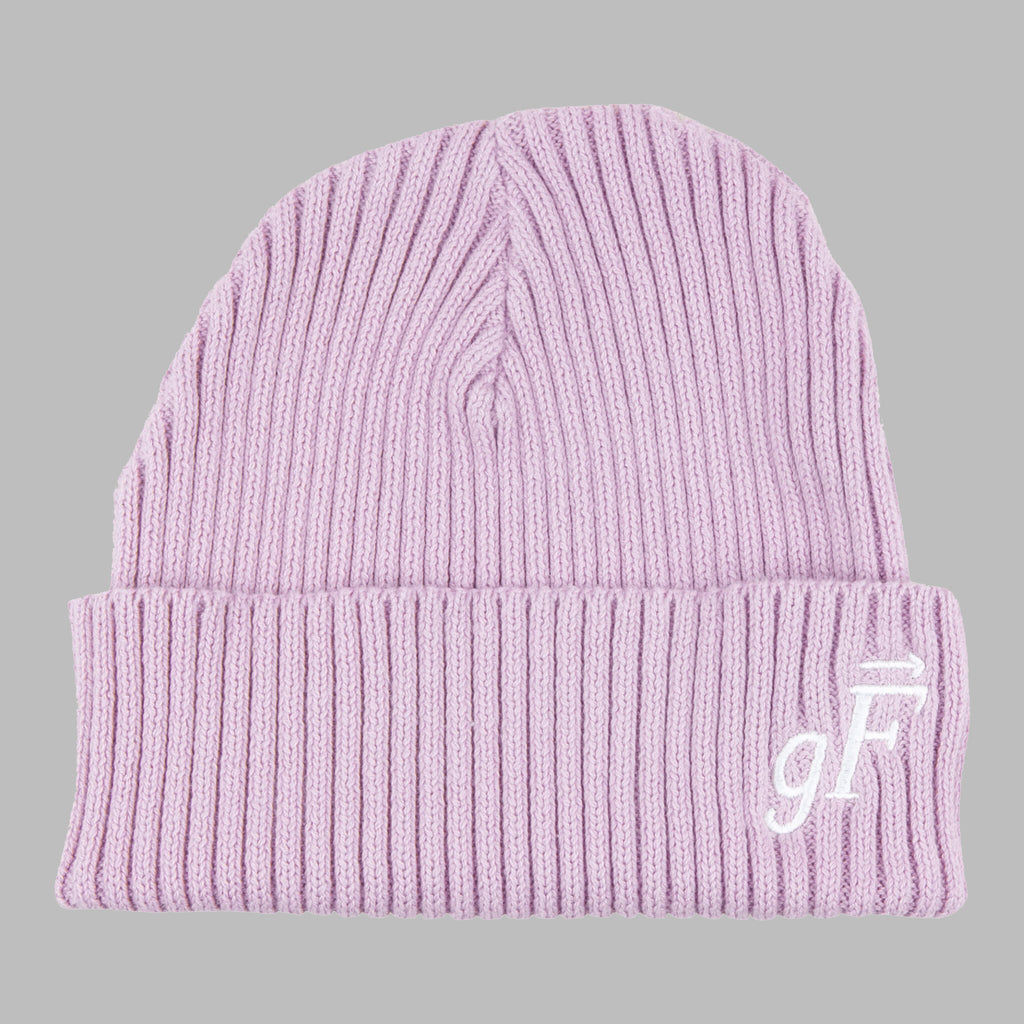 gF Logo Beanie, Cosmic Purple - GOOD FISHING