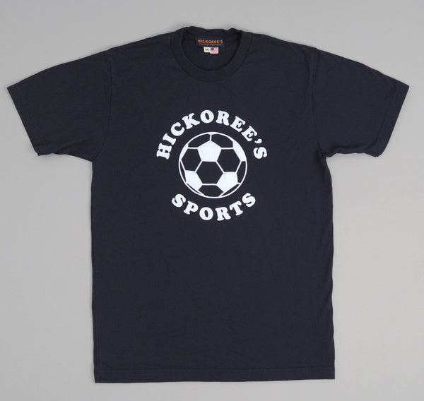 Hickoree's - Hickoree's Sports Souvenir T-Shirt, Navy -