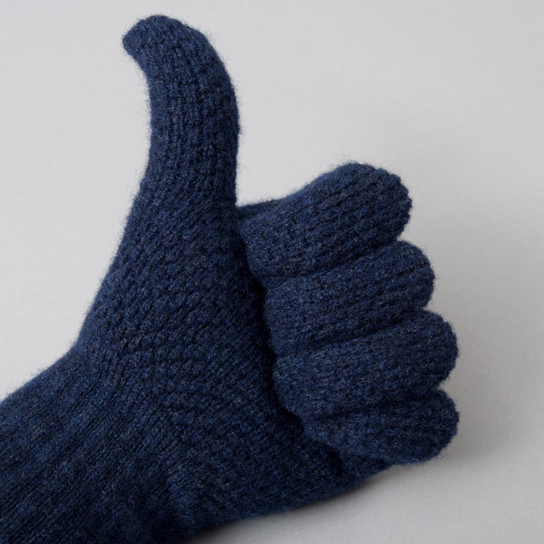 Howlin' - Herbie Gloves, Dark Blue - image 2