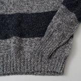 Howlin' - Little Walter Sweater, Grey Mix / Charcoal Stripe - image 3