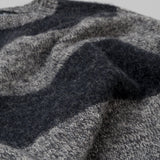 Howlin' - Little Walter Sweater, Grey Mix / Charcoal Stripe - image 4