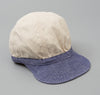 Kapital - Two Tone Work Cap, Nep Canvas / Linen - image 1