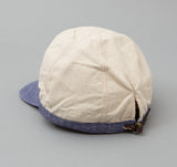 Kapital - Two Tone Work Cap, Nep Canvas / Linen - image 2