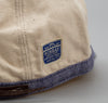 Kapital Two Tone Work Cap, Nep Canvas / Linen