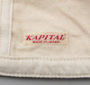 Kapital - Two Tone Work Cap, Nep Canvas / Linen - image 7