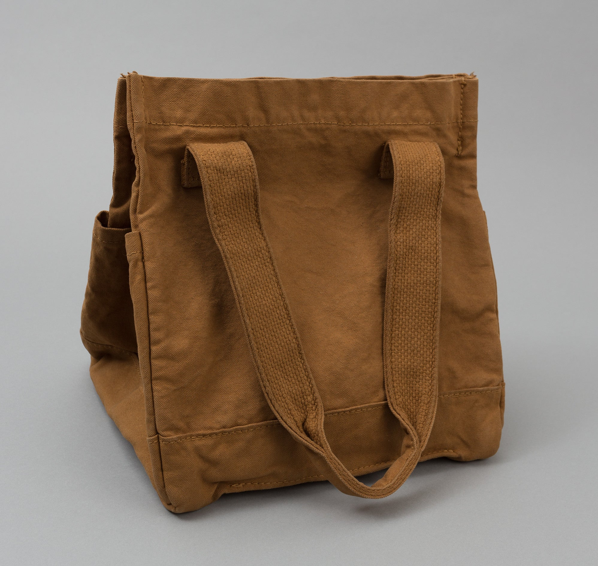 Kapital Canvas Tote Bag, Camel