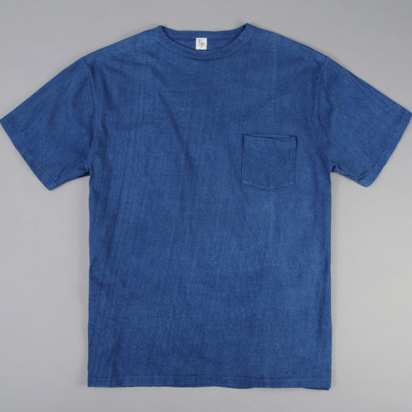 Kaptain Sunshine - Basic Pocket Tee, Buaisou Indigo - image 1