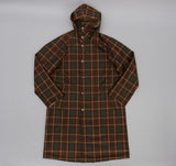 Kaptain Sunshine - Reversible Mt. Coat, Khaki / Brown Check - image 2