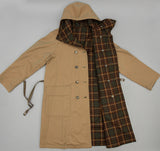 Kaptain Sunshine - Reversible Mt. Coat, Khaki / Brown Check - image 3